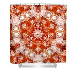 Solar Hypercube Shower Curtain