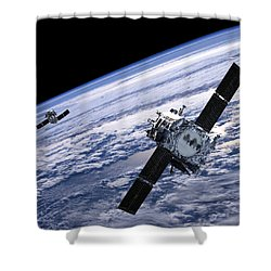 Solar Terrestrial Relations Observatory Satellites Shower Curtain