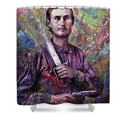 Soldier Fellow 1 Shower Curtain by James W Johnson