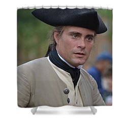 Soldier In Colonial Williamsburg Shower Curtain