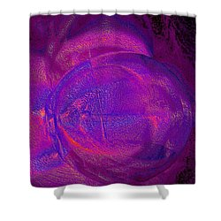 Shower Curtain featuring the digital art Soldier Of Fortune by Digital Feng Shui