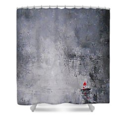 Solitude 2 Shower Curtain by Jane  See