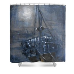 Solitude 4 Shower Curtain by Jane  See