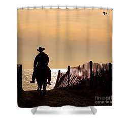 Solitude Shower Curtain