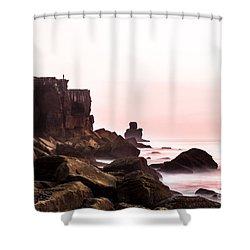 Solitude Shower Curtain by Edgar Laureano