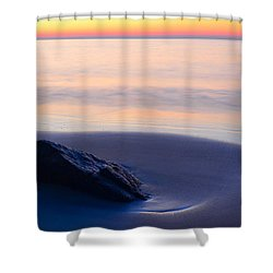 Solitude Singing Beach Shower Curtain
