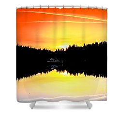 Solitude Shower Curtain by Robert Bales