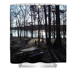 Shower Curtain featuring the photograph Solitude by Fortunate Findings Shirley Dickerson