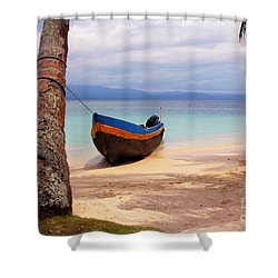 Solo Shower Curtain by Bob Hislop