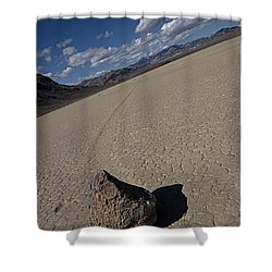 Shower Curtain featuring the photograph Solo Slider by Joe Schofield
