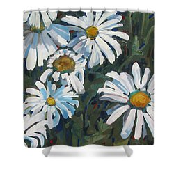 Some Are Daisies Shower Curtain