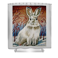 Some Bunny Is Charming Shower Curtain