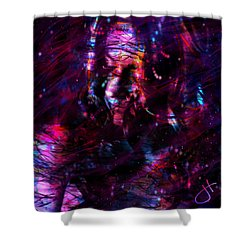 Some Devil Shower Curtain