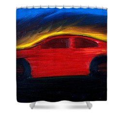Some Have Seen The Air Shower Curtain by Stacy C Bottoms