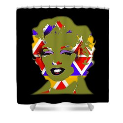 Some Like It Native Shower Curtain by Charles Stuart