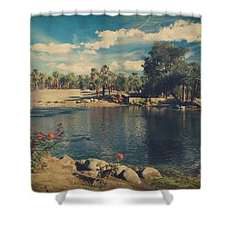 Some Wishes Shower Curtain by Laurie Search