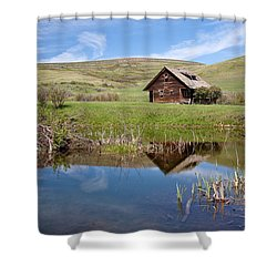 Shower Curtain featuring the photograph Somebody's Dream by Jack Bell