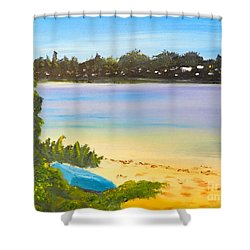 Somento Victoria Australia Shower Curtain by Pamela  Meredith