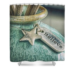Something To Believe In Shower Curtain