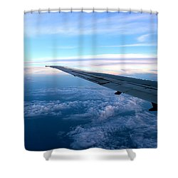 Somewhere Over Georgia 3 Shower Curtain by Kume Bryant