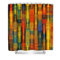 Sonic Dreams Of Glory Shower Curtain