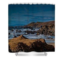 Sonoma Coast Shower Curtain by Bill Gallagher