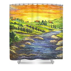 Sonoma Country Shower Curtain