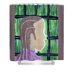 Soon - Abstract Painting - Ai P. Nilson Shower Curtain