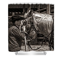 Shower Curtain featuring the photograph Soothing Touch by Joan Davis