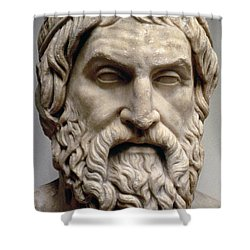 Sophocles Shower Curtain by Greek School