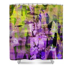 Sophora Shower Curtain by Susan Schroeder