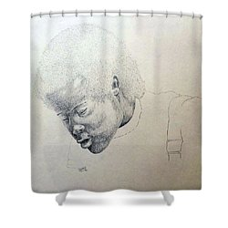 Sorrow Shower Curtain