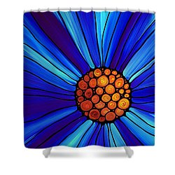 Soul Kiss 1 Shower Curtain by Sharon Cummings