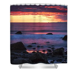 Sound Colors Shower Curtain