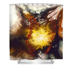 Source Of Strength Shower Curtain