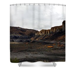 Source Of The Mud Flood Shower Curtain