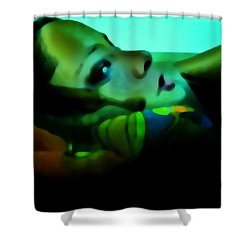 Soused Shower Curtain by Jessica Shelton