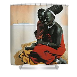 South Africa  Shower Curtain by Anonymous