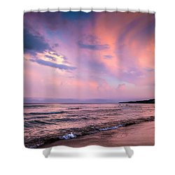South Beach Clouds Shower Curtain