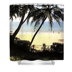 South Beach - Miami Shower Curtain