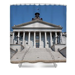 South Carolina State Capital Building Shower Curtain