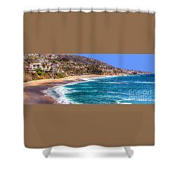 South Laguna Beach Coast Shower Curtain
