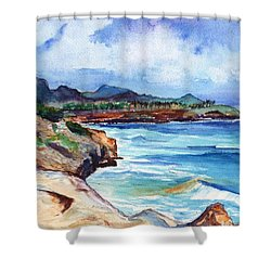 South Shore Hike Shower Curtain