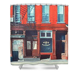 South Street Shower Curtain by Anthony Butera