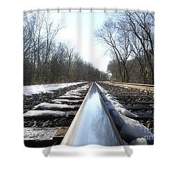 Southbound Shower Curtain