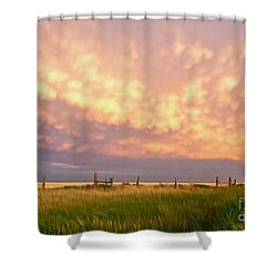 Southeastern New Mexico Shower Curtain