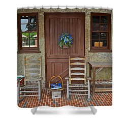 Southern Charm Shower Curtain by Frozen in Time Fine Art Photography