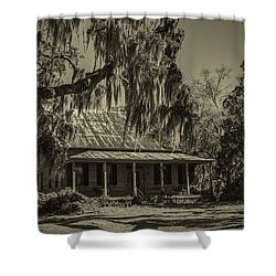 Southern Comfort Antique Shower Curtain by Debra and Dave Vanderlaan