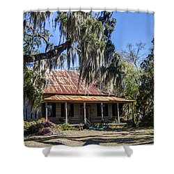 Southern Comfort Shower Curtain by Debra and Dave Vanderlaan