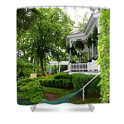 Southern Hospitality Shower Curtain by Patti Whitten